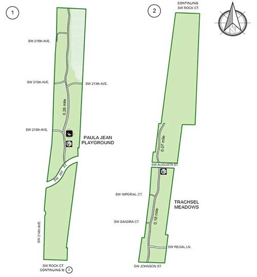 map of the park
